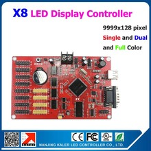 Easy operation led display controller 9999x128pixel Kaler X8 led controller for indoor outdoor p5 p6 p8 p10 p16 p20 p4 led panel(China)