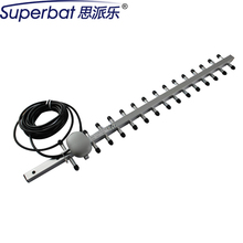 Superbat 1990-2170MHz 16 dbi 3G Antenna Yagi Antenna Aerial Siganl Booster for RP SMA Plug 500cm Cable For 3G Wireless NEW(China)