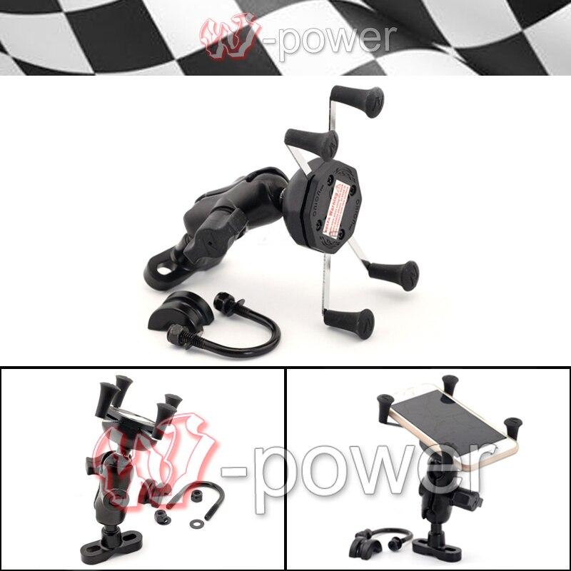 fite For Bajaj Pulsar 200 NS 2012 2013 2014 Motorcycle Accessories GPS navigation frame Mobile Phone Holder<br><br>Aliexpress