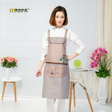 1PC Women Hot Apron Kitchen Dining Promotional Aprons Housewife Essential Supplies Delantal Cocina Avental  LB 411