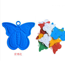 2pcs/lot Butterfly shaped balloons bearing pendant balloon falling counter weight block birthday party balloon decor 8z-cx540