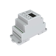4 CH Constant Voltage DMX512 Decoder RGB/RGBW Controller Din rail mounted 4 channel Dimming Controller 5-24VDC