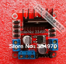 10pcs/lot 100% New and original L298N motor driver board module for arduino stepper motor smart car robot