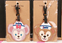 1pcs DUFFY and Shellie Pendant Travel Name Tag Novelty toys(China)
