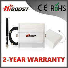 Hiboost  Mobile Signal Booster LCD GSM DCS LTE 1800mhz  2G 3G 4G Single Band Signal Booster 13dBm Telecom Repeater F13-DCS