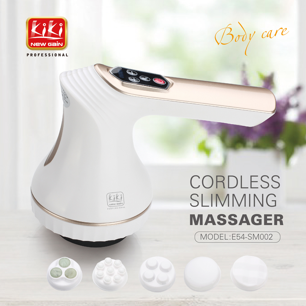 KIKI newgain Munti function body massager ELECTRIC SLIMMING MASSAGER Vibration Slimming machine High frequency vibration