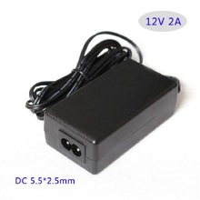 AC 100V-240V Converter power Adapter AC DC adapter 12V 2A 24W Led switching power supply  Table type