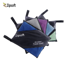 Zipsoft Beach towels for Adult Microfiber Nes Year gift Quick drying Travel Sports towel Blanket Bath Swimming Pool Camping 2018(China)