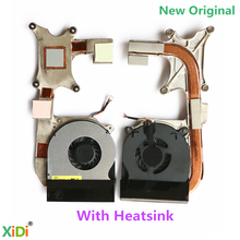 NEW Original FOR DELL Latitude E6400 CPU COOLING FAN With Heatsink XIDI DFS531005MC0T F750 P/N:0FX128