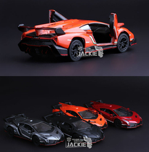 High Simulation Exquisite Model ToyS: KiNSMART Car Styling Veneno Car Model 1:36 Alloy Sports Car Model Excellent Gift