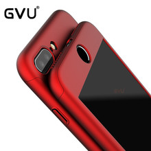 GVU For Apple iPhone 7 6 6s Plus 360 Case Protection Luxury Mobile Phone Case Cover Coque Nano Glass case For iPhone6 7 Cases