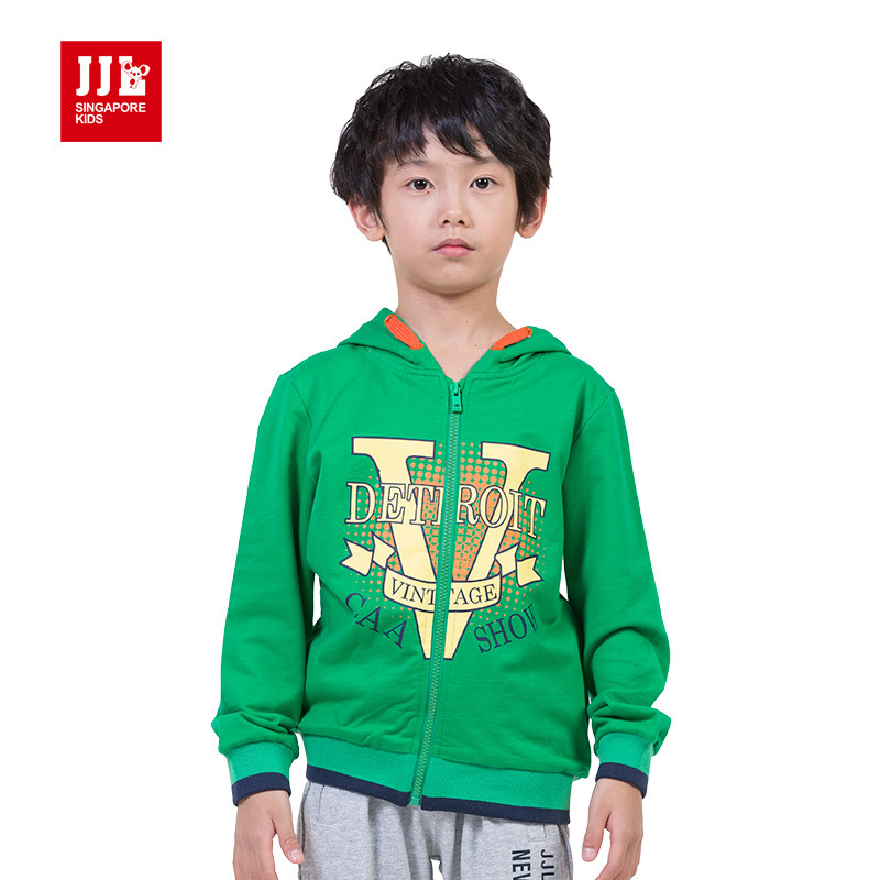 boys sweatcoat spring kids hoodie coat children outwear child jacket size 4-11 years children clothing<br><br>Aliexpress