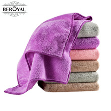 New 2017 Hand Towel - 4piece Microfiber Towel Absorbent Plush Towels Bathroom Magic Travel Towel Super Soft Face Cloth 34*75cm