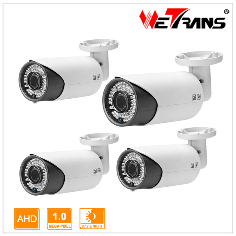 1/4 CMOS HD Analog Camera support mobile phone remote view 60m long distance night vision CCTV AHD camera 720P 4pcs <br><br>Aliexpress