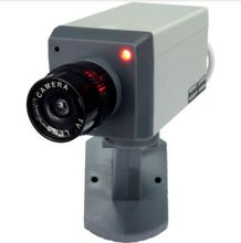 AB-BX-01Y1 Motion Activated Motorized Dummy Security Camera with Swivel Action(China)