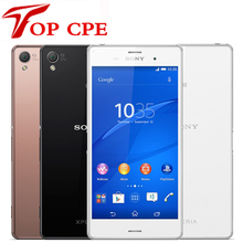 "Z3 Original Sony Xperia Z3 D6603 5.2"" Screen 20.7MP Quad-core Android OS 16GB ROM 3GB RAM refurbished Unlocked Cell Mobile phone"