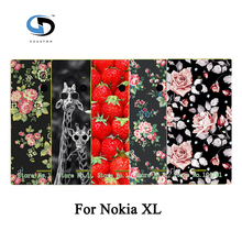 Colorful Women Girls' Rose Peony Beautiful Flower Floral Drawing Hard Plastic Case For Nokia XL Skin Back Cover