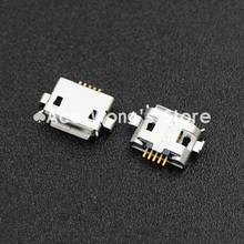 10pcs 5pin Female Micro USB Connector, DIP 2 Fixed feet, Widely used in tablet, phones and PDA