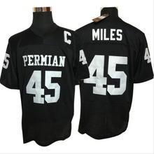 American Football Jersey Boobie Miles #45 Friday Night Lights Football Jersey Permian Black All Stitched Top Quality S-3XL