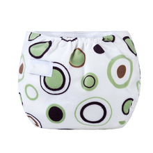 Baby Waterproof Washable Diaper Soft Thickened Adjustable Underwear Reusable Nappy for 0-12months Newborn