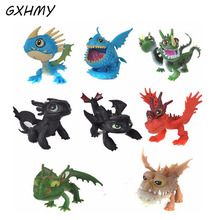 GXHMY 8pcs How To Train Your Dragon 2 Toys Action Figures Brinquedos Kids Toys Juguetes