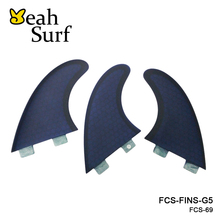 FCS Fibreglass Fins G5 Honeycomb Fin Surfboard Fins New Design Surf Fins Free Shipping Paddle Board