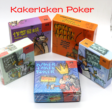 5 Options Funny Cards Game Kakerlaken Salat/Poker/Royal/Suppe/Mogel Motte Board Game Family Party Cockroach Indoor Game(China)
