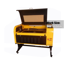 6090 Free Shipping CNC 100W laser engraving Cutting machine 110/220V+Sample Rotary +CW3000 Water Chiller CO2 Laser Engraver(China)
