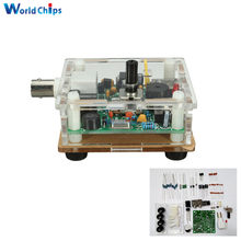 DC 9-13.8V S-PIXIE CW QRP Shortwave Radio Transceiver 7.023Mhz+ Acrylic Case DIY kit(China)