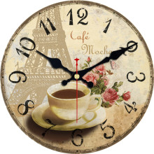Coffee Mug Wine Tableware Design Wall Clock Relogio De Parede Large Silent For Living Room Saat Home Decoration Watch Wall Gift