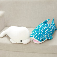 Buy 40cm Creative Kawaii Soft Plush Stuffed Appease Toys Marine Animal Gray Shark Dolls Pillow Birthday Gift Kids Toys Children for $11.51 in AliExpress store