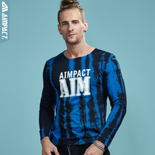Buy Aimpact Cotton Long Sleeve Tie Dye T shirts Men Crewneck Basic Dyed T-Shirt Man Fashion Slim Fitted Funny Tshirt Brand Clothing for $13.99 in AliExpress store