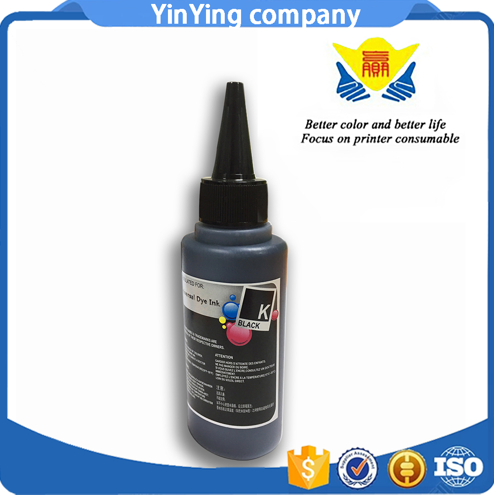 100 Ml Tinta Isi Ulang Untuk Hp Canon Samsung Lexmark Epson Dell Refill Infuse System Printer Brother Grade A 100ml1 Universal Black Dye Ink Compatible For