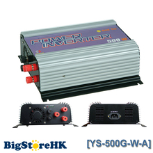 500W Grid Tie Power Inverter for 3 Phase AC To AC Wind Turbine MPPT Pure Sine Wave Inverter Build In High Wind Protection