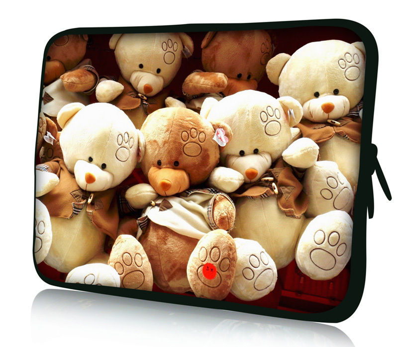 15 Teddy Bear Soft Laptop Notebook Soft Sleeve Bag Case Cover Pouch For 15.6 HP Pavilion G6 DV6 M6,Dell,Acer,Toshia<br><br>Aliexpress