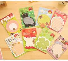 New cartoon animal sticky  notes & romantic serie notepads / Multifunction label / memo pad / fashion gift