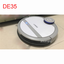 DE35 100-240V Mini Robot Vacuum Cleaner for Home Automatic Sweeping Dust Sterilize Smart Planned Mobile App 0.35L Dust box(China)