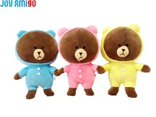 Lovely Soft Teddy Bear Pendant- Stuffed Toy In Different Clothes Plush Animal Doll Softies Plushies Size 25cm/10inch