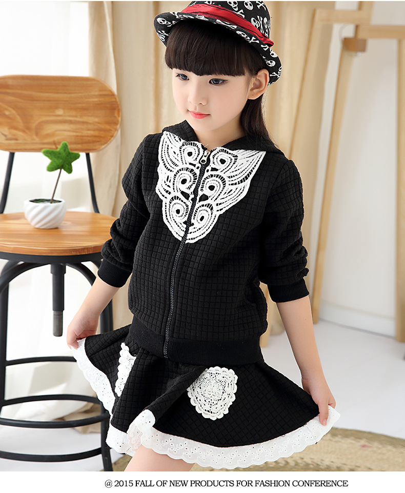 Autumn burst children childrens clothing girls in Korean knitting fashion leisure sport suit<br><br>Aliexpress
