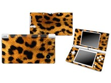 Leopard Vinyl Skin Sticker Protector for Nintendo DSI NDSI skins Stickers(China)