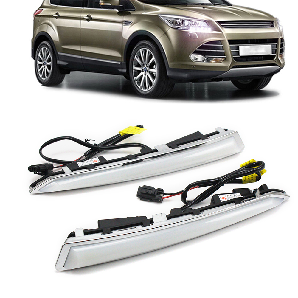 For FORD KUGA 2014 2015 2017 2017 Car-special LED Daytime Running Light DRL Wholesale D15<br><br>Aliexpress