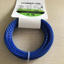 Grass Trimmer Line 1.6mm Diameter 15M Twist Square/spiral for Brush Cutter Power Nylon Line Grass Cutting(China)