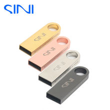 SINI USB Flash Drive 4GB/8GB/16GB/32GB Pen Drive Real Capacity  64gb Pendrive USB 2.0  Memory stick U disk free shipping