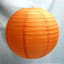 45CM=18inch 50pcs/lot Big Size Chinese Round Rice Paper Lantern/ Lampion Decorations Hanging Birthday Holiday Party Decor(China)