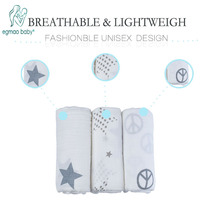One pack Muslin Baby Swaddling Blanket Newborn Infant 100% Cotton Swaddle Towel Random Delivery