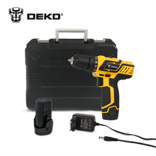 DEKO GCD10.8DU3 10.8V DC New Design Household Lithium-Ion Battery Cordless Drill/Driver Power Tools Electric Drill