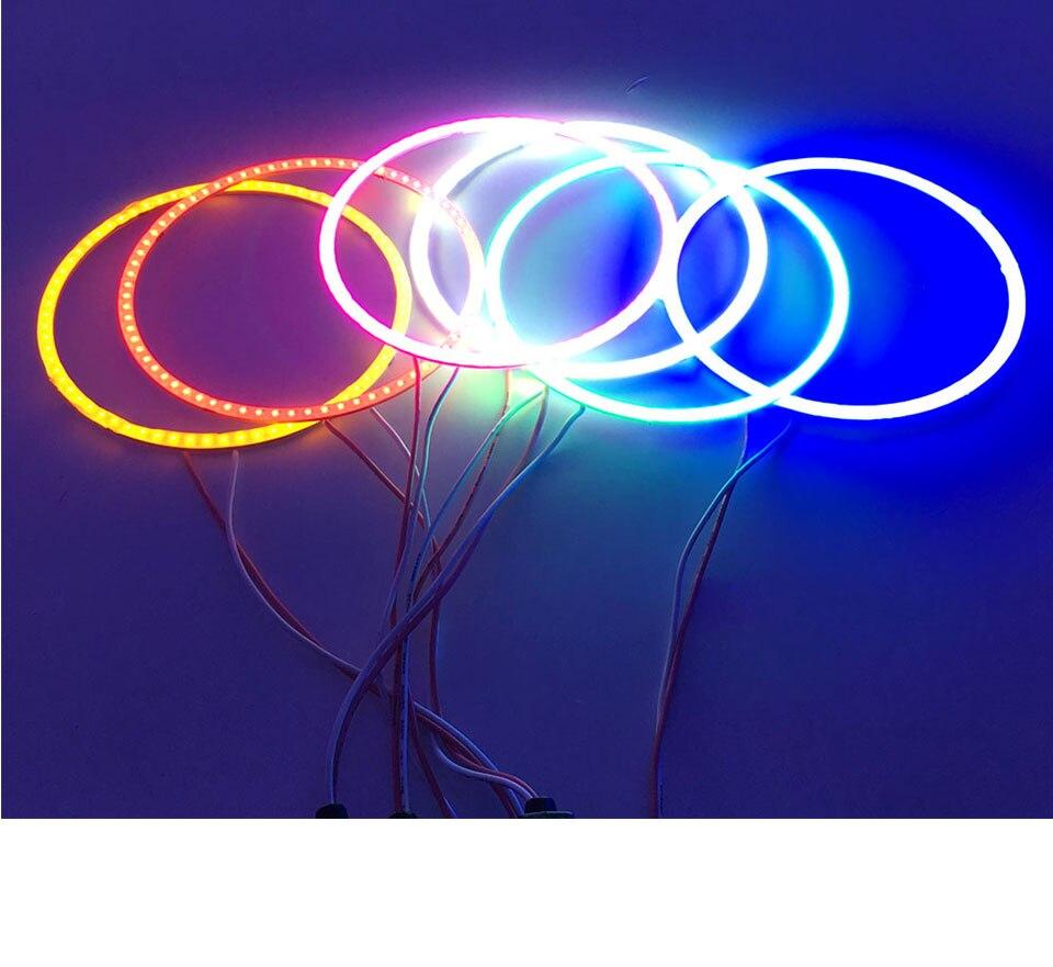 ANGEL EYE COB LED LIGHT ROUND LIGHT BULB FOR CAR LIGHTING (20)