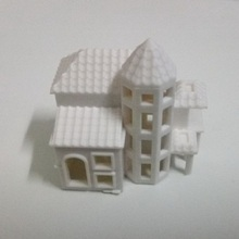 3D White Model Villa Sand Table Model House Hot Selling(China)