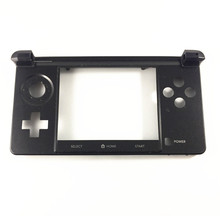 Black Original Bottom Middle Frame Housing Shell Cover Case Replacement for Nintendo 3DS Game Console Repair Parts(China)