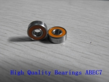 2PCS 3x10x4 Stainless steel hybrid ceramic ball bearing S623 2OS CB ABEC7 LD Fishing vessel bearing